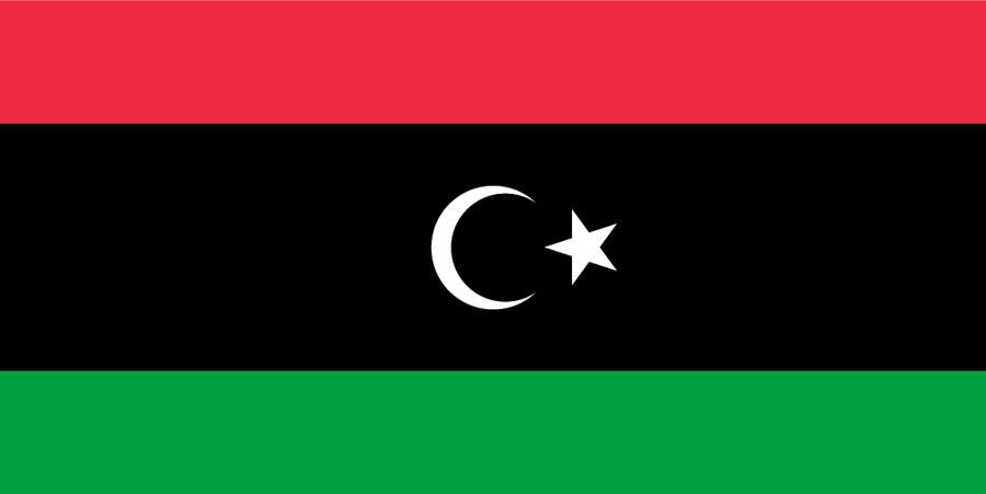 Nueva bandera de Libia