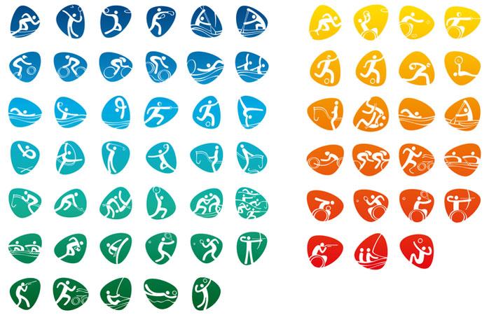 Pictogramas de los Juegos Olímpicos de Rio 2016