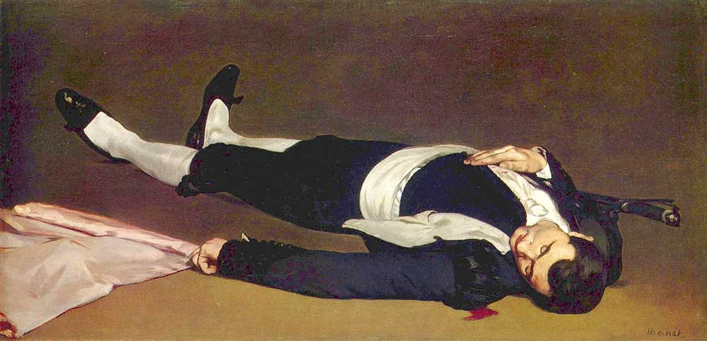 Torero Muerto. Edouard Manet