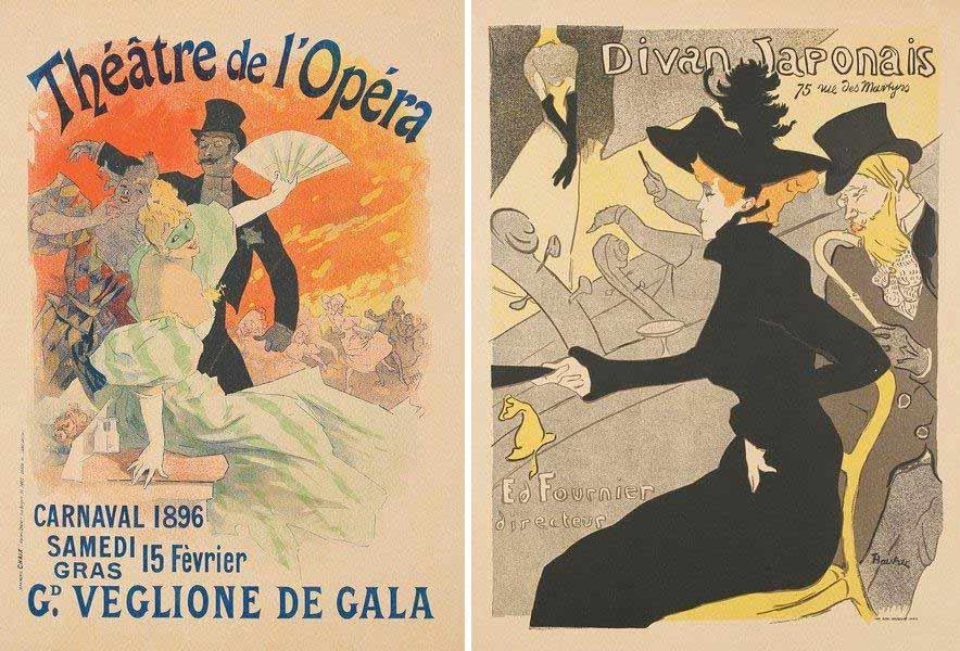 Carteles de Toulouse-Lautrec