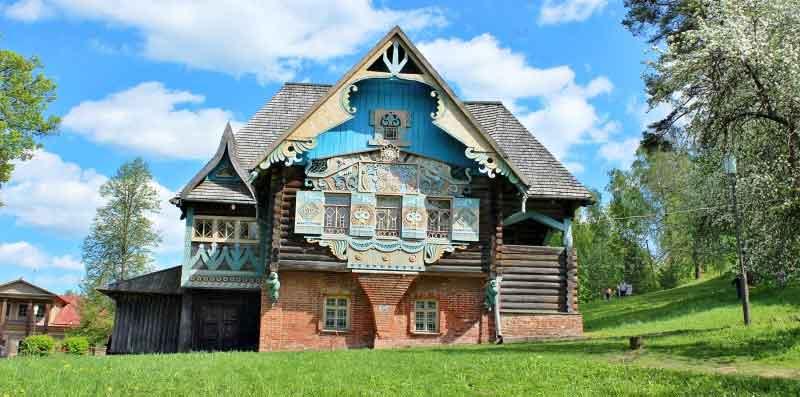 El complejo histórico-arquitectónico Teremok en Talashkino.