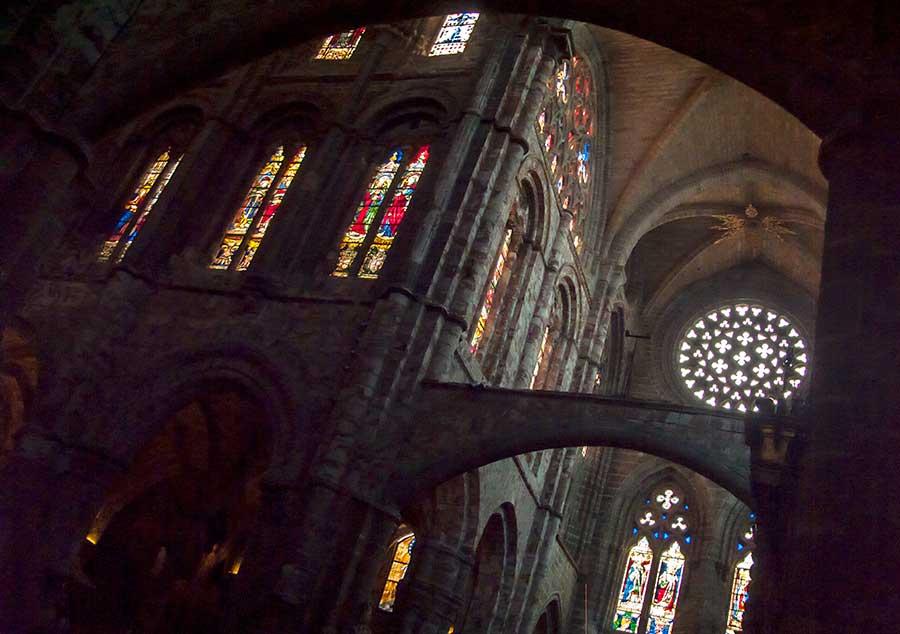 Triforio de la Catedral de Ávila.