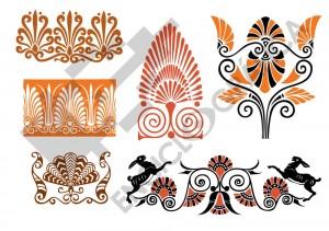 Palmetas griegas
