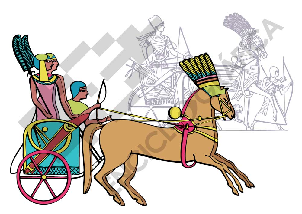 Carros egipcios