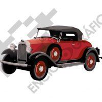 Coche rojo 1920