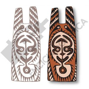 Escudo tribal de Papua