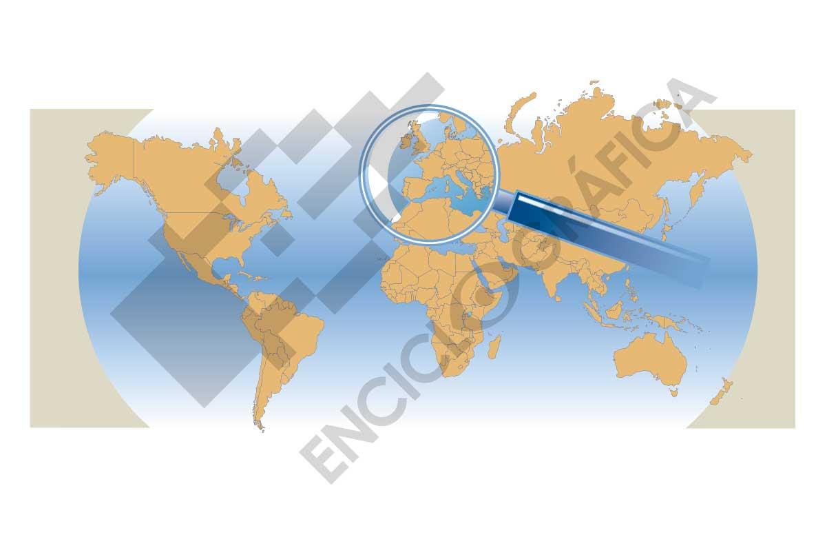 Mapamundi Europa Lupa