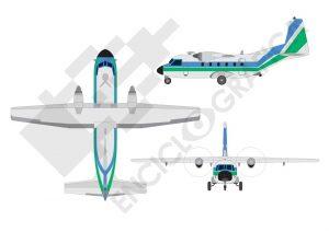 Avión Aviocar