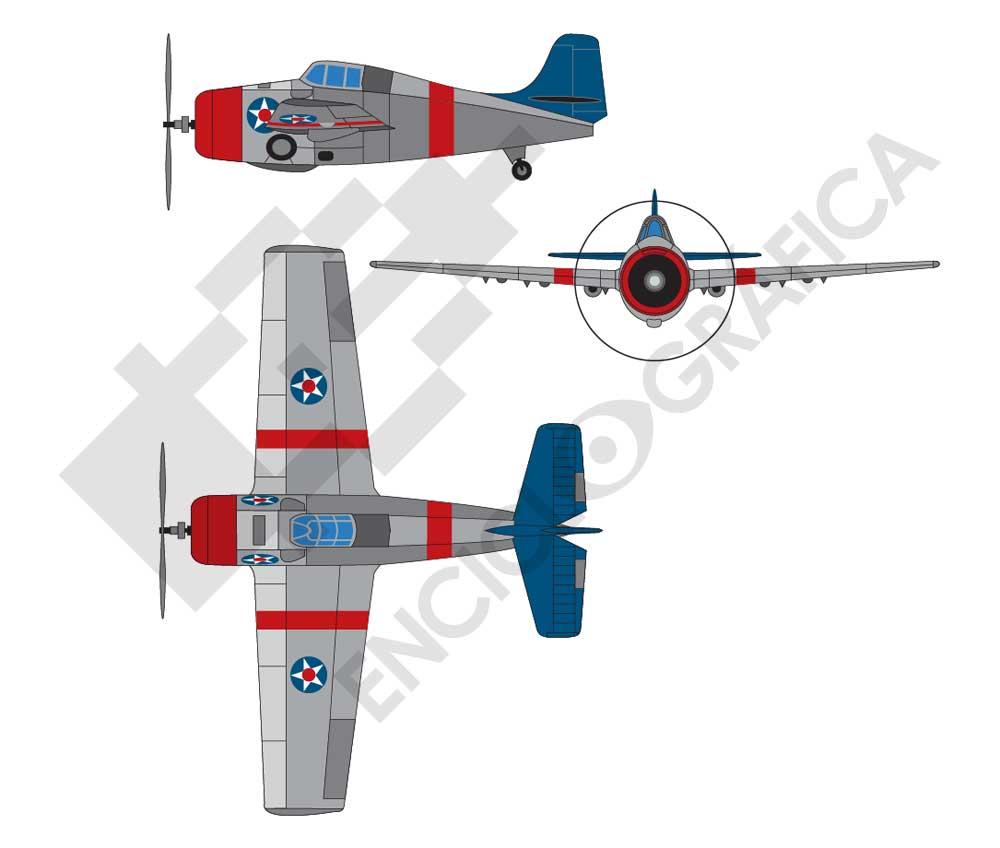 Avión combate 1949