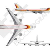 Avión Boeing 747. Jumbo