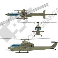 Helicóptero de combate
