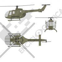 Helicoptero de transporte