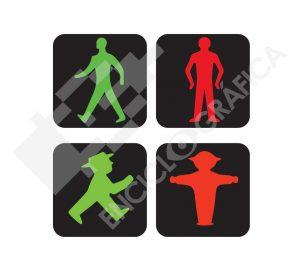 Hombrecillos de semáforo