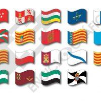 Banderas de Comunidades Autónomas