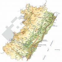 Mapa vectorial de Castellon de la Plana