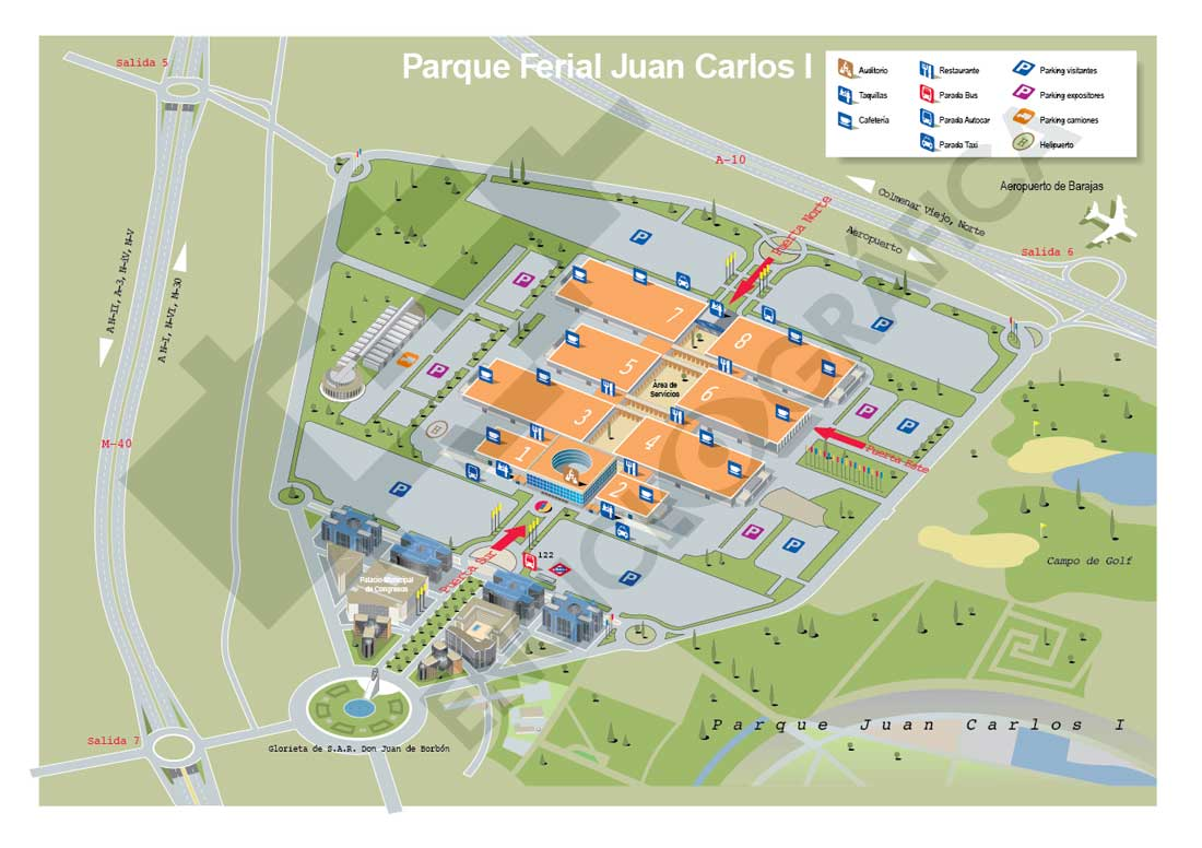 Recinto Ferial Juan Carlos I (IFEMA)