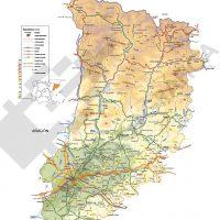 Mapa vectorial de Lleida