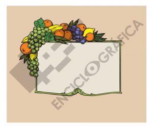 Marco de frutas