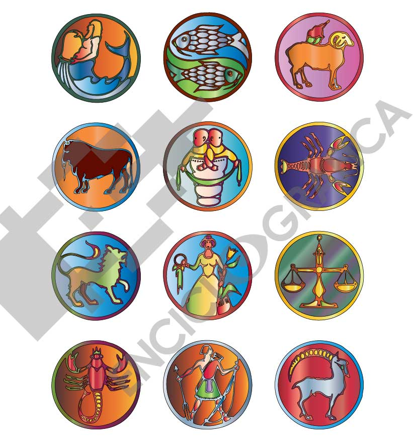 Símbolos Zodiaco Hyperion