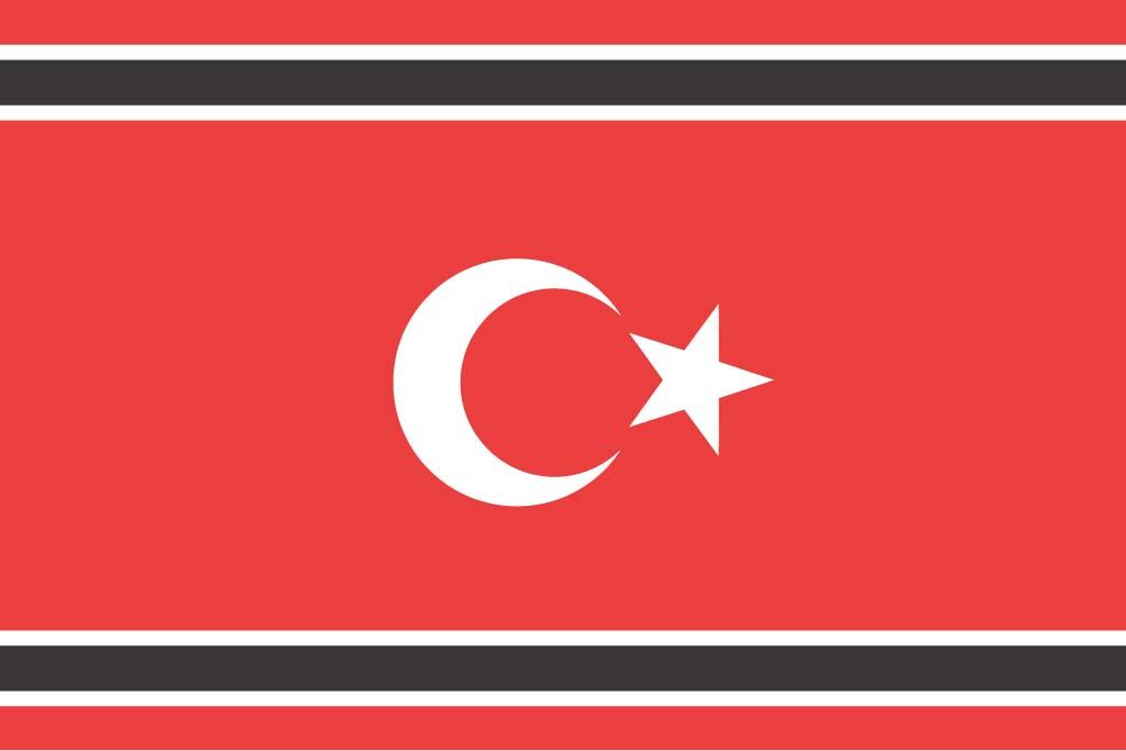 Bandera separatista de Aceh