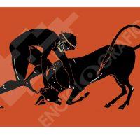 Heracles y el toro de Creta