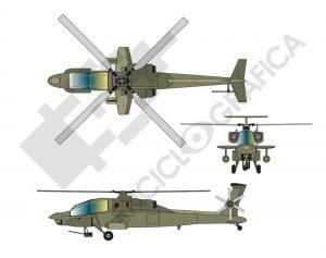 Helicóptero de combate 2