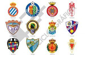 Escudos de Fútbol (LPF 2013-2014)