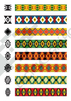 Patrones textiles precolombinos