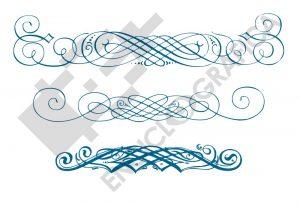 Florituras caligraficas